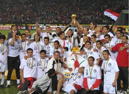 7 titres, un record détenu par la sélection égyptienne.