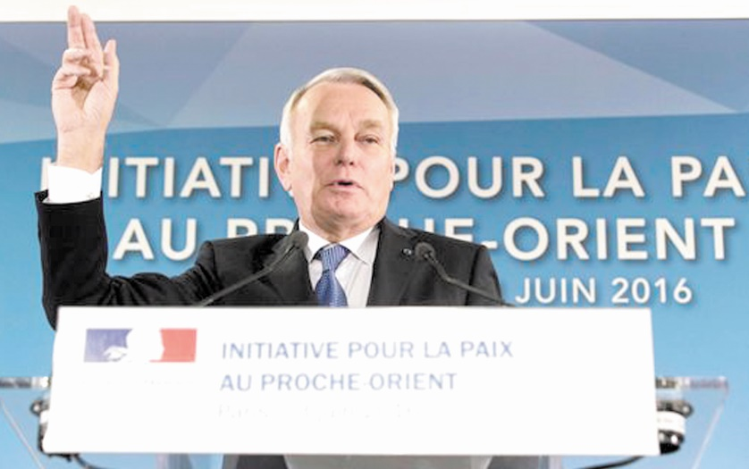 Tenue de la conférence de Paris sur le conflit israélo-palestinien
