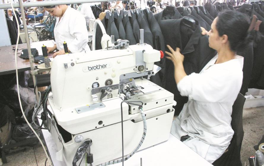 Renforcer la stratégie de développement et de compétitivité  du secteur textile et habillement