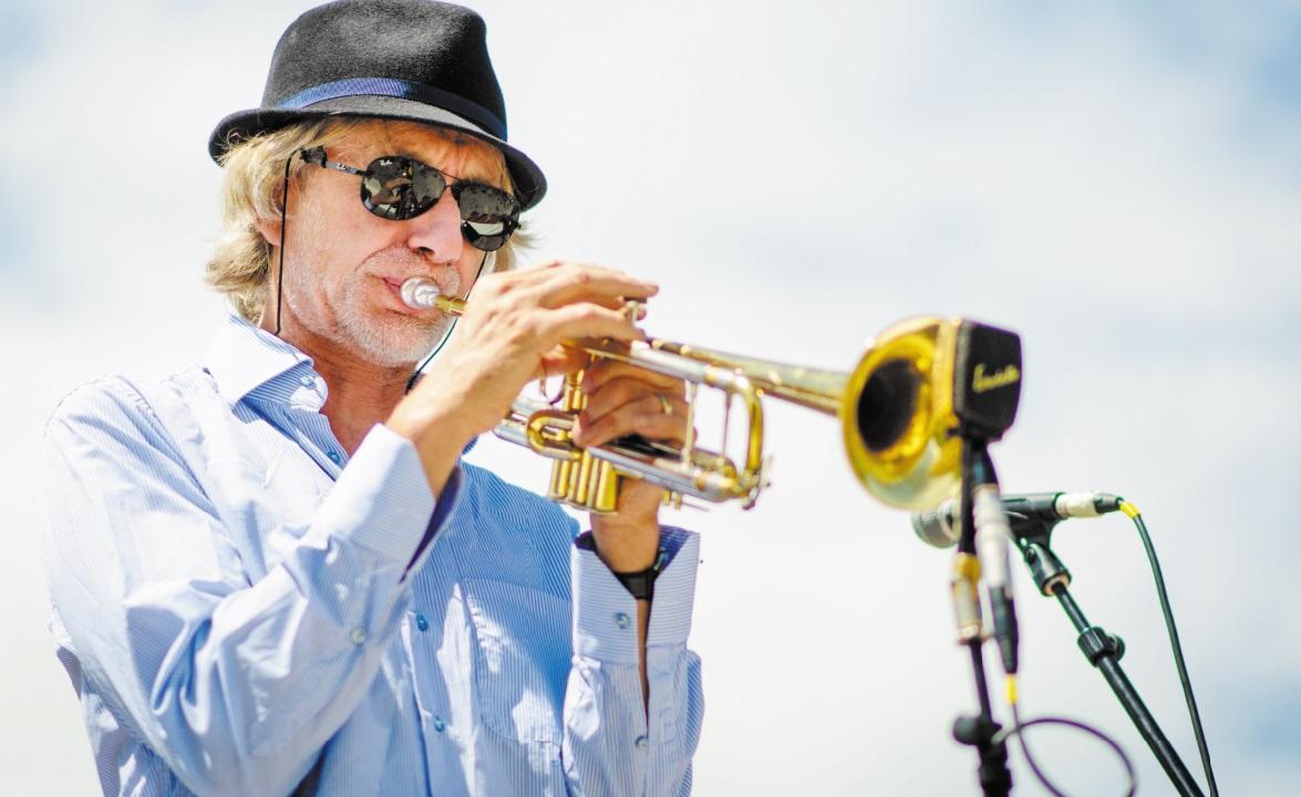 Erik  Truffaz en concert à Casablanca