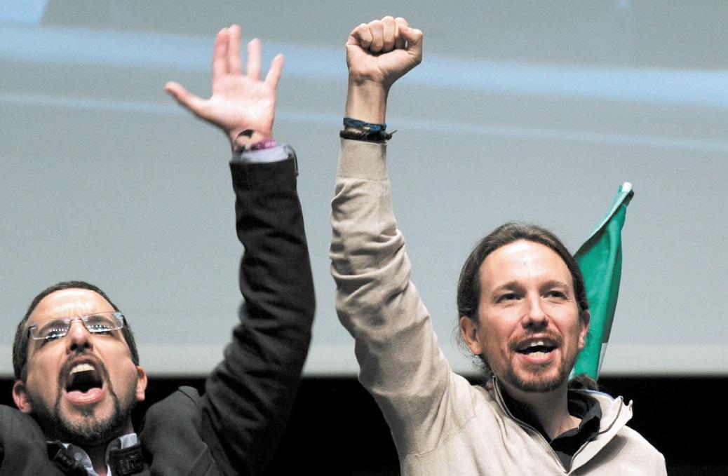 Guerre des chefs chez Podemos