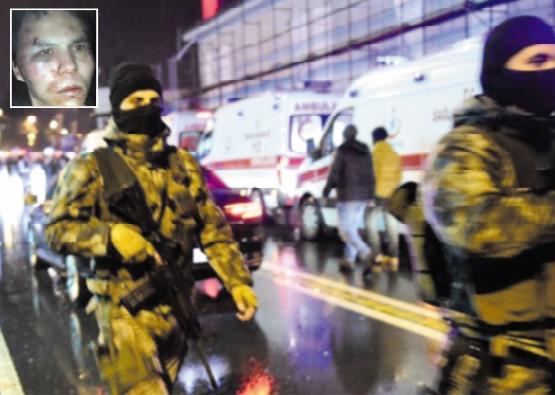 L'auteur présumé de la tuerie du Nouvel An à Istanbul arrêté
