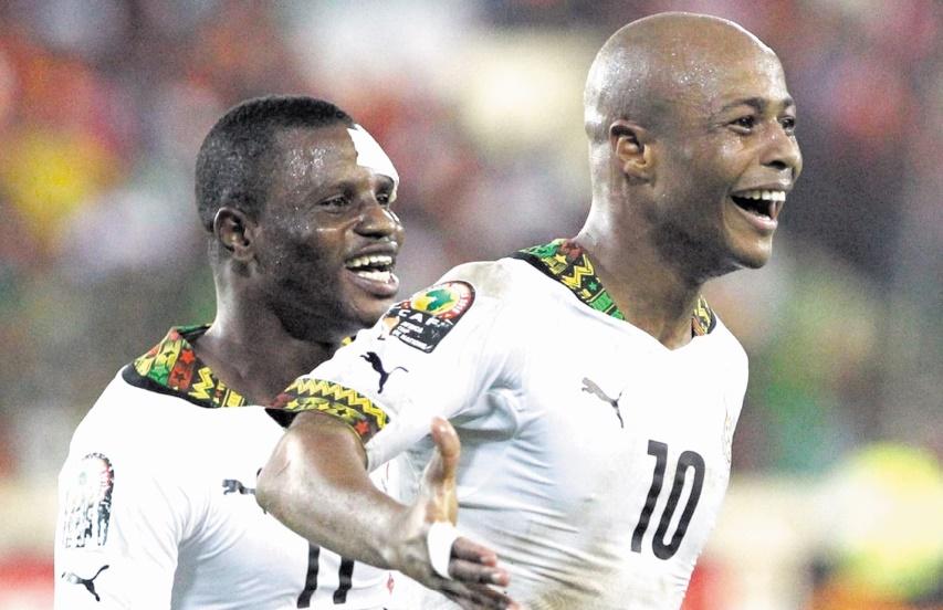 Le Ghana assure l'essentiel
