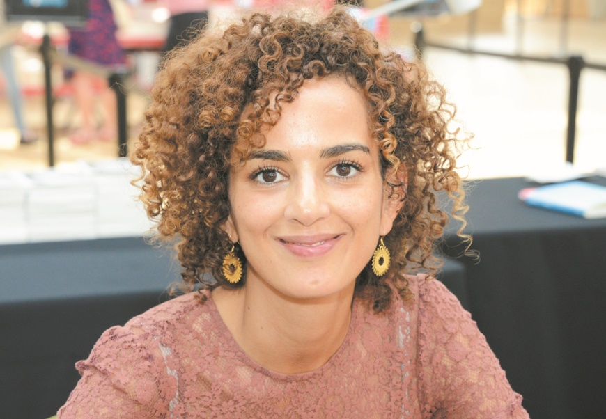 """Leïla Slimani présente à Paris son roman """"Chanson douce"""", prix Goncourt 2016"""