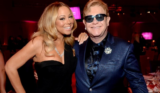 Mariah Carey et Elton John Un show qui rapporte des millions