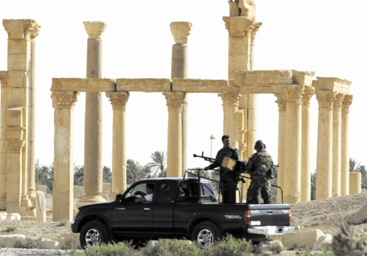 L'EI a détruit de nouveaux monuments à Palmyre