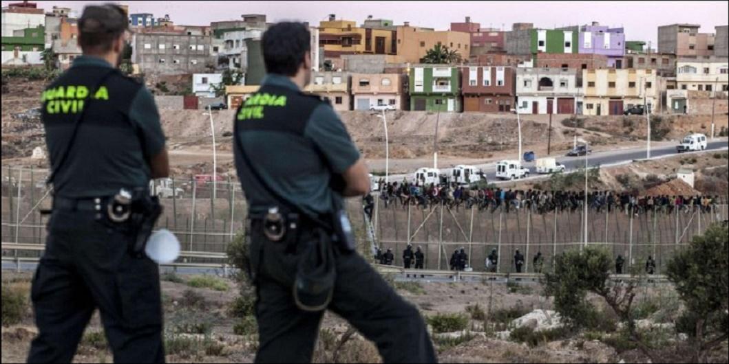 Un policier espagnol détenu pour trafic de migrants entre le Maroc et le préside occupé de Mellilia