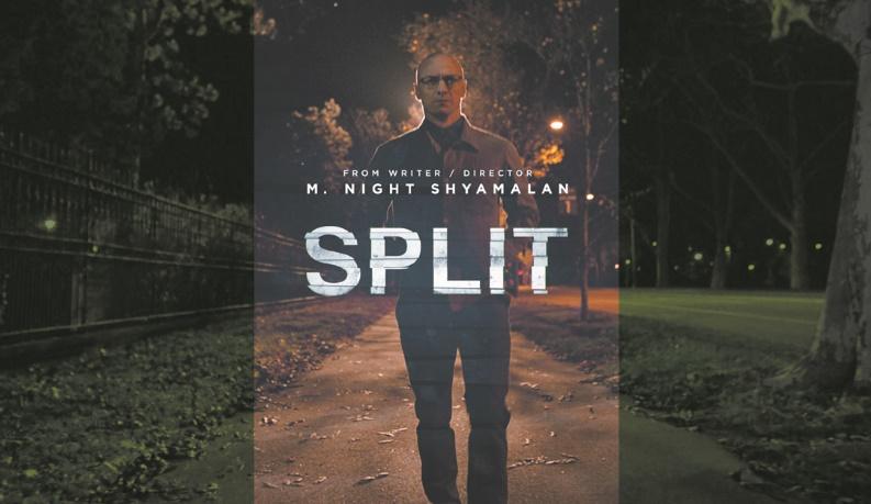 """Le nouveau thriller, """"Split"""", en tête du box-office"""