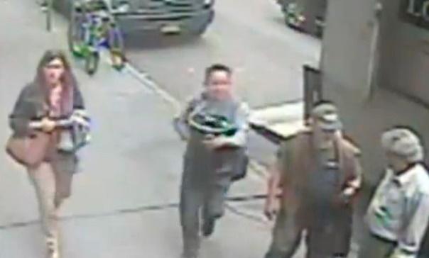 Insolite : Arrestation du voleur d'or à Manhattan