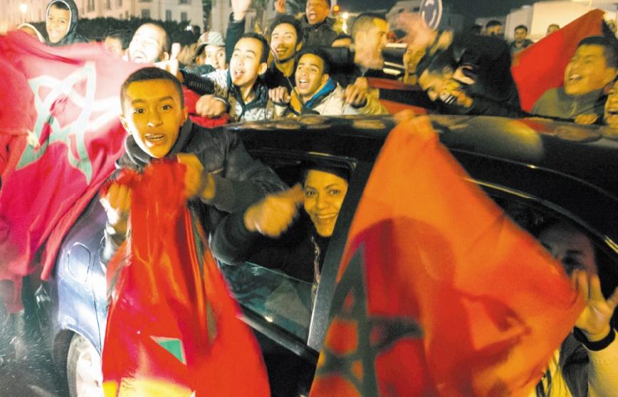 Les Marocains en liesse
