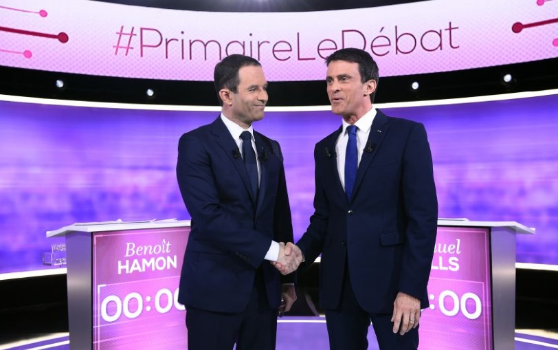 Les deux prétendants socialistes à la présidentielle française affichent leurs divergences