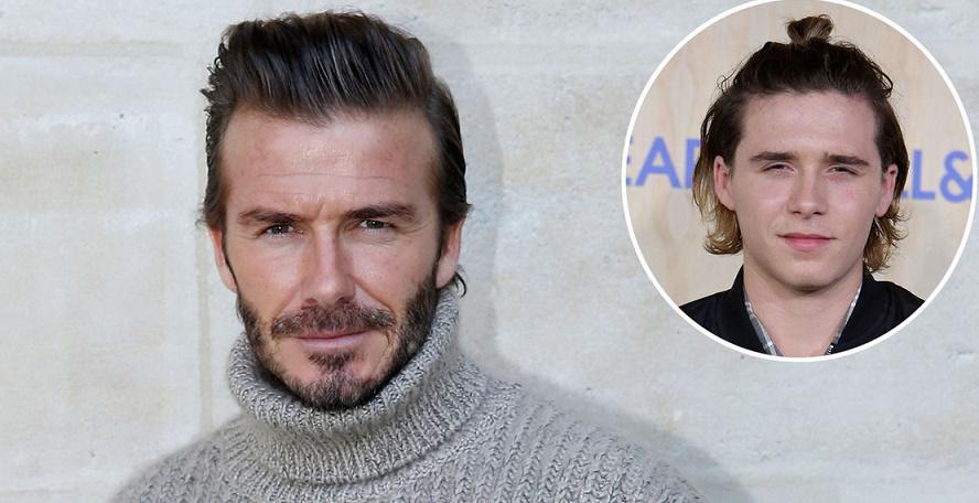 David Beckham colle la honte à son fils Brooklyn