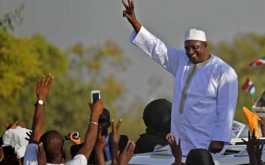 Le président Barrow de retour en Gambie