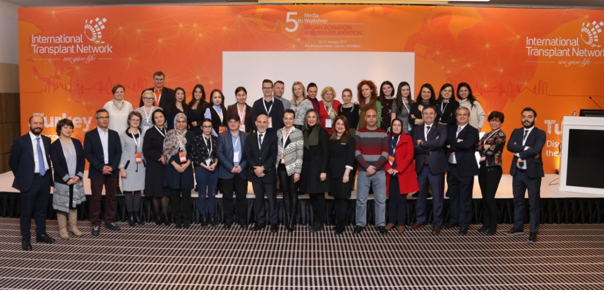Sensibilisation au don et à la transplantation d'organes : Des journalistes du monde entier réunis à Istanbul