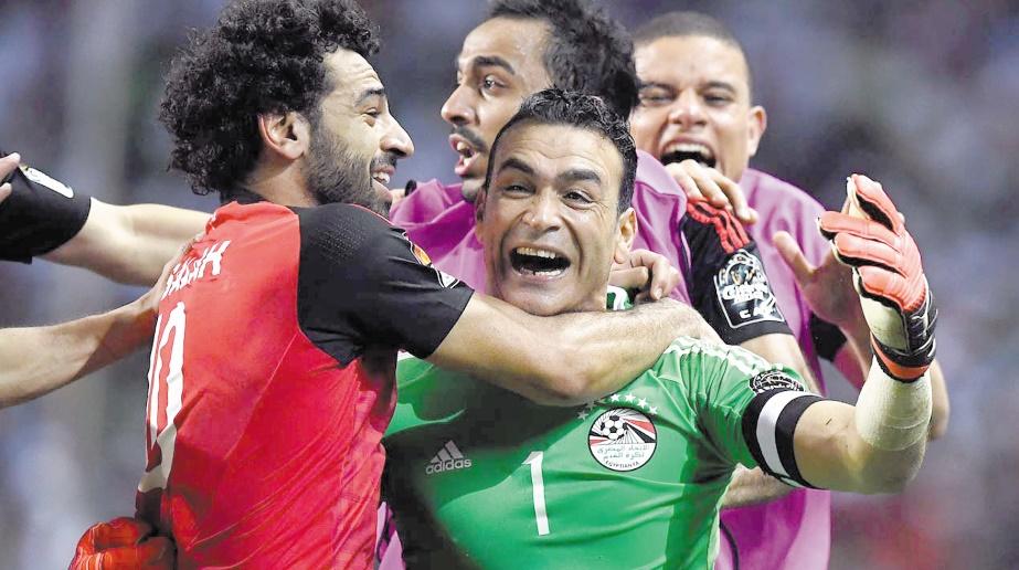 Le doyen El-Hadary emmène l'Egypte en finale