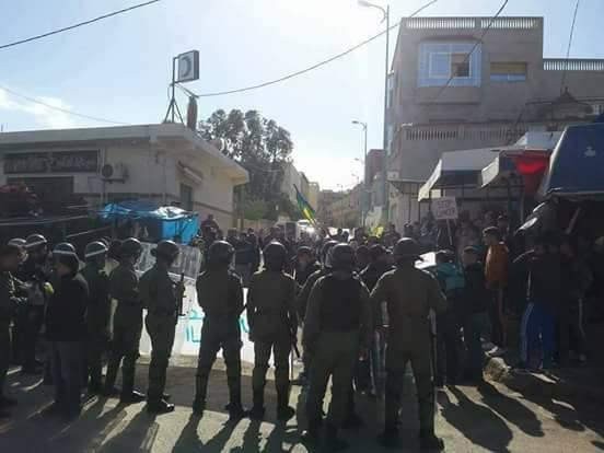 Violentes manifestations dans la province d'Al Hoceima