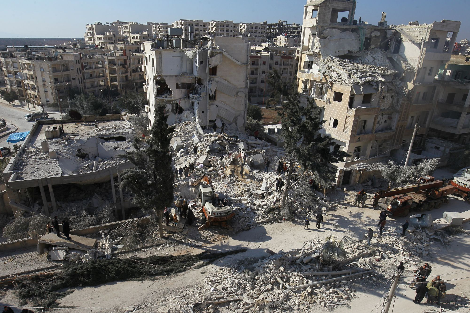 46 morts dans les raids contre l'ex-branche d'Al-Qaïda en Syrie