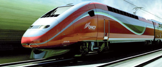 Le TGV sur la bonne voie