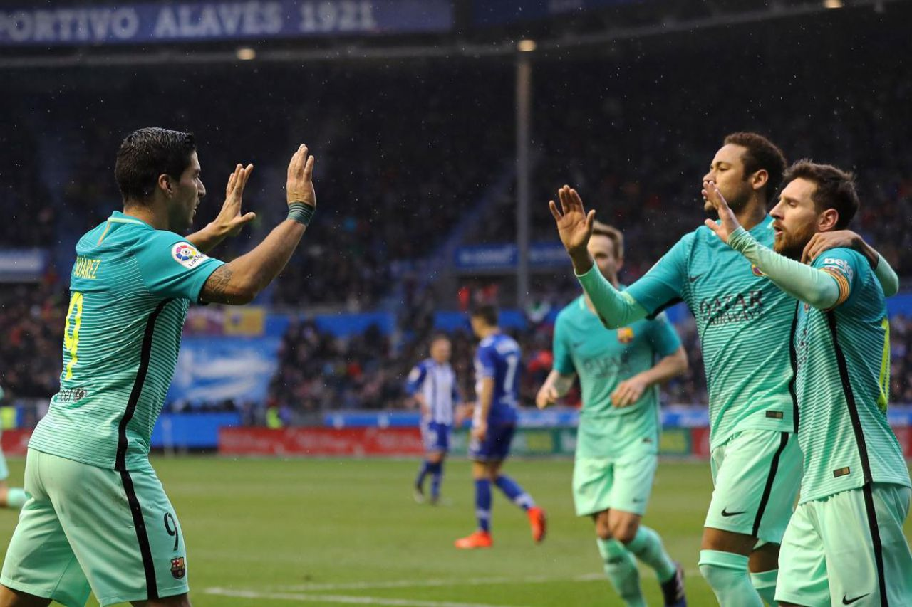 Le Barça à fond, le Real a minima