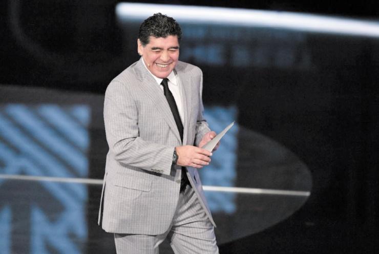 Maradona : Le football argentin est en morceaux