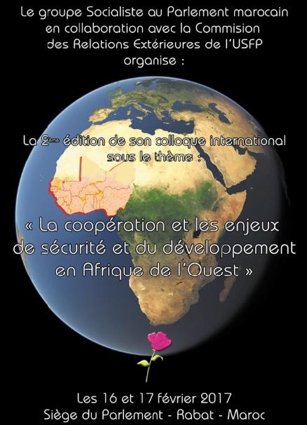 """Les dirigeants africains hôtes de l'USFP :  """"Coopération et enjeux de la sécurité et du développement en Afrique de l'Ouest"""""""