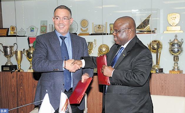Conventions de partenariat entre la FRMF et les Fédérations béninoise et centrafricaine