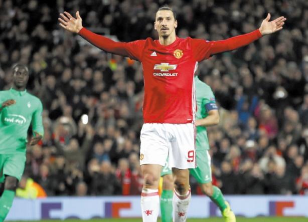 "Ibrahimovic ""zlatane"" Saint-Etienne : La Roma en balade espagnole"