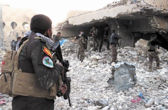 Al Bab en Syrie pratiquement reprise à l'EI