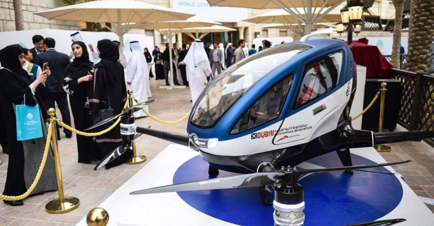 Dubaï teste le taxi-drone