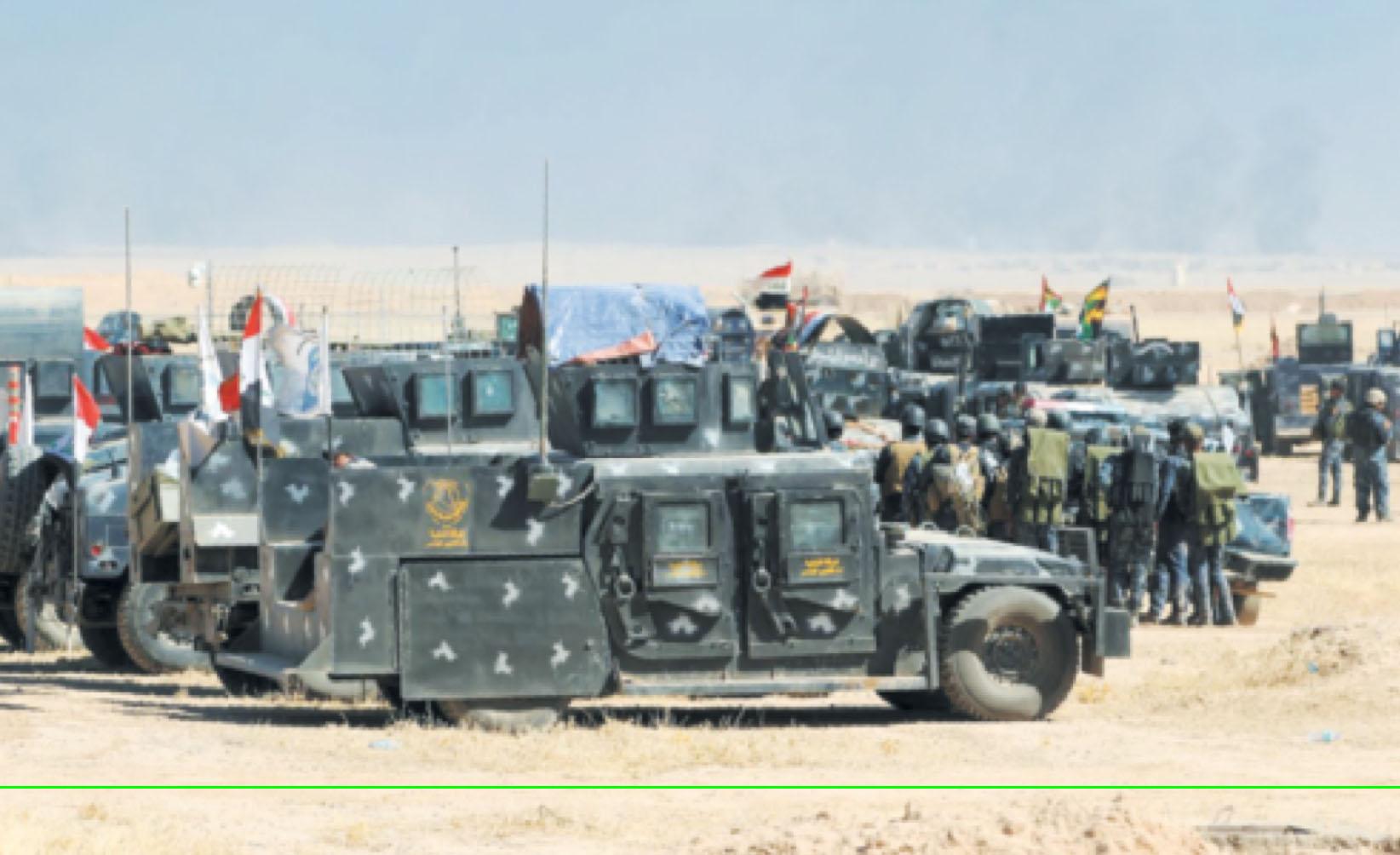 Début de l'offensive terrestre pour reprendre Mossoul-Ouest