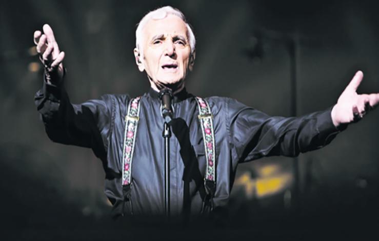 Charles Aznavour en ouverture  du Festival  Mawazine