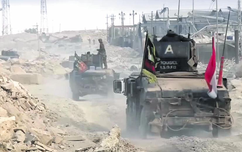 Les forces irakiennes entrent pour la première fois à Mossoul-Ouest