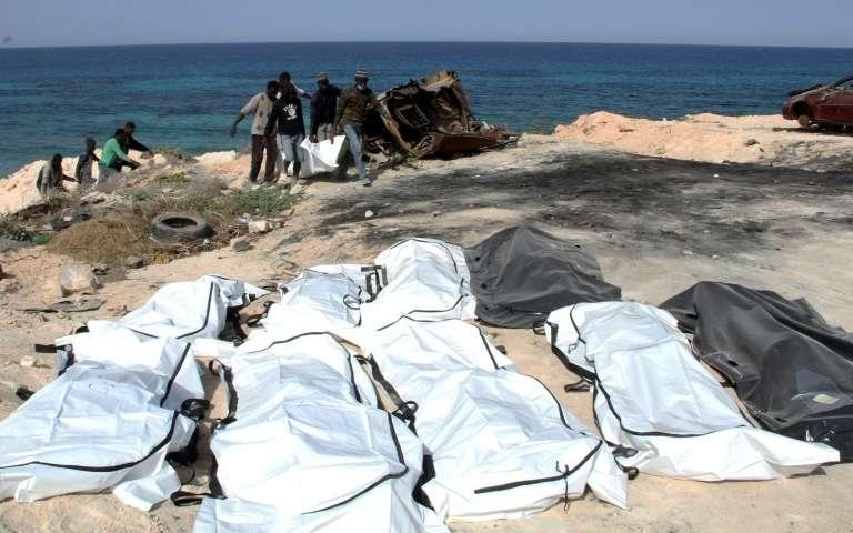 13 migrants morts asphyxiés dans un conteneur en Libye