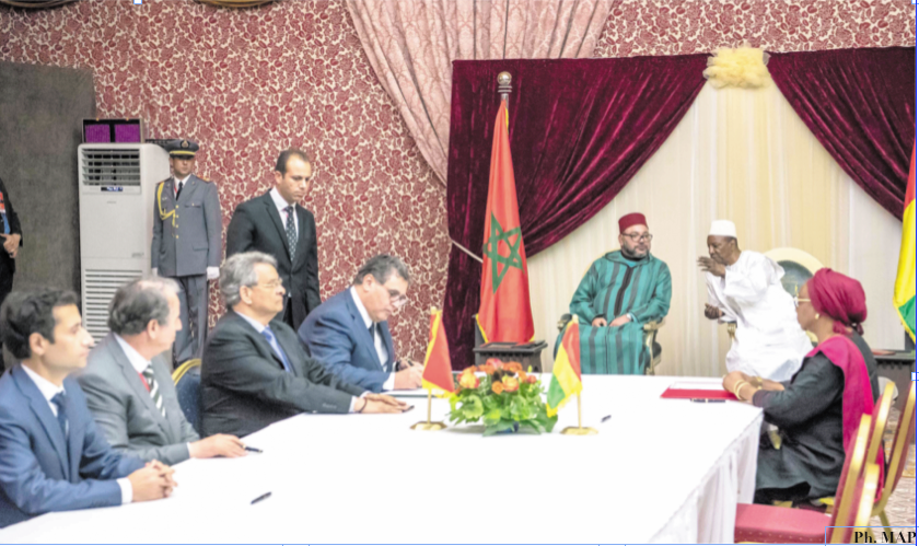 Signature de huit accords de coopération bilatérale entre le Maroc et la Guinée