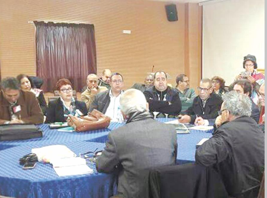 Débats fructueux à la réunion de la Commission d'orientation de l'USFP