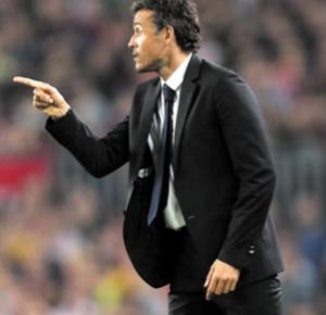 Le Barça  déroule  et le Real  revient  de loin  Luis Enrique partant