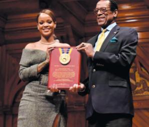 Rihanna ravie du prix décerné par Harvard