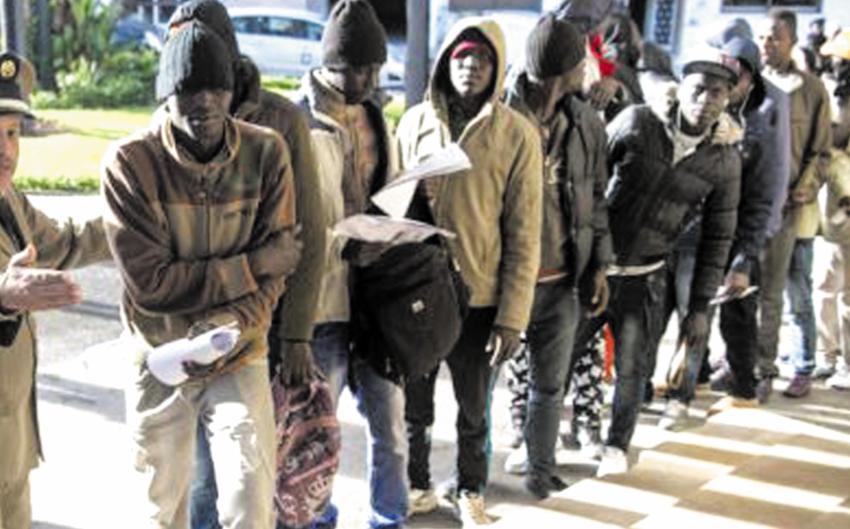Convaincre les migrants de retourner chez eux plutôt que de tenter la traversée vers l'Europe  Tout un programme !