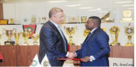 Convention de partenariat entre la FRMF et les Fédérations nigérienne et guinéenne