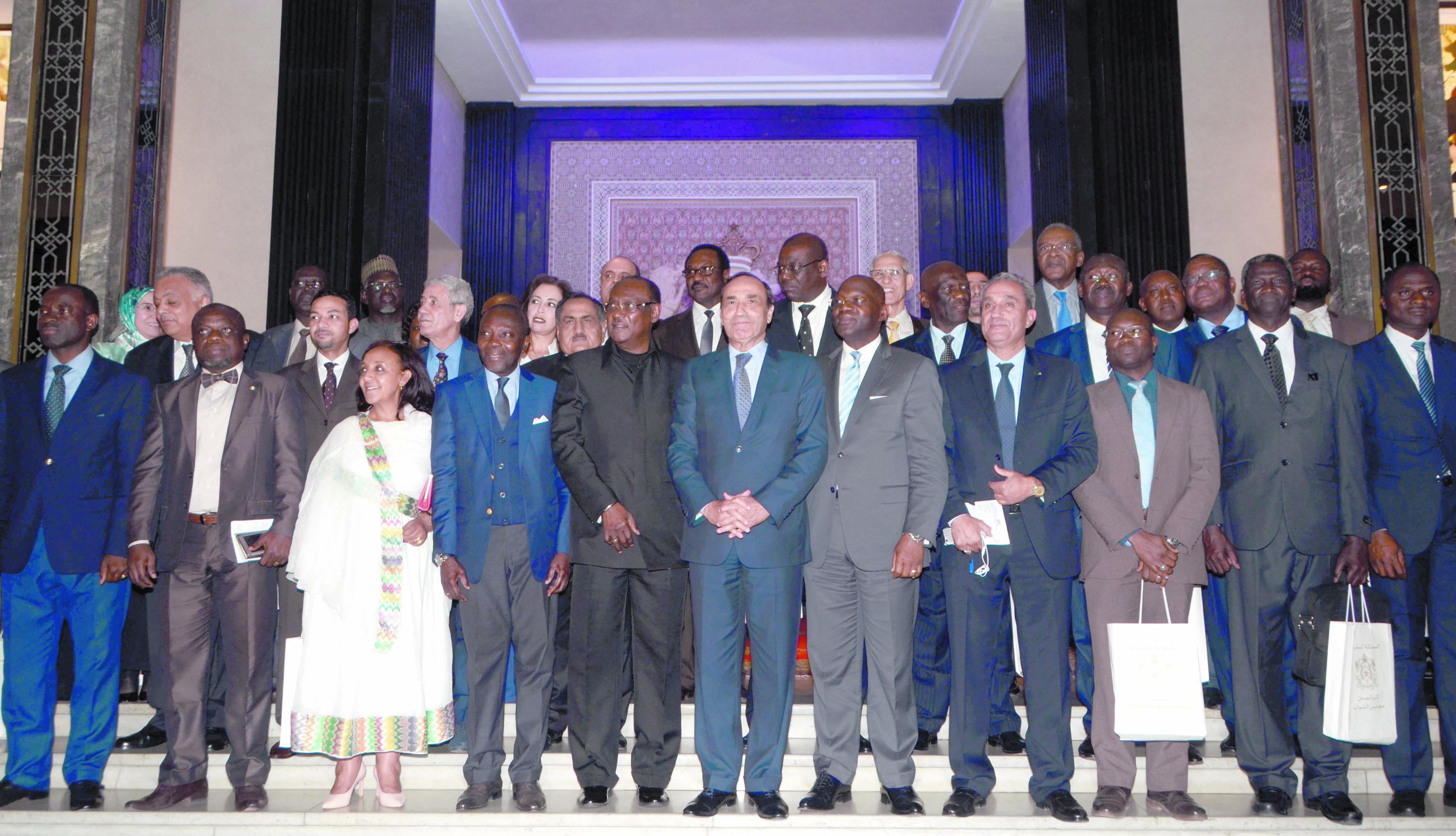 Les ambassadeurs africains à Rabat hôtes de la Chambre des représentants