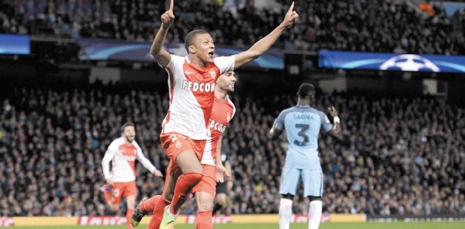 Monaco et l'Atletico rejoignent les quarts de la Ligue des champions