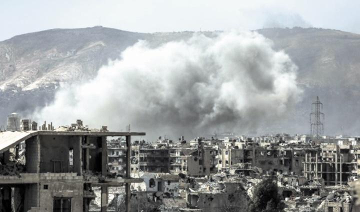 Intenses bombardements sur l'est de Damas après une attaque rebelle