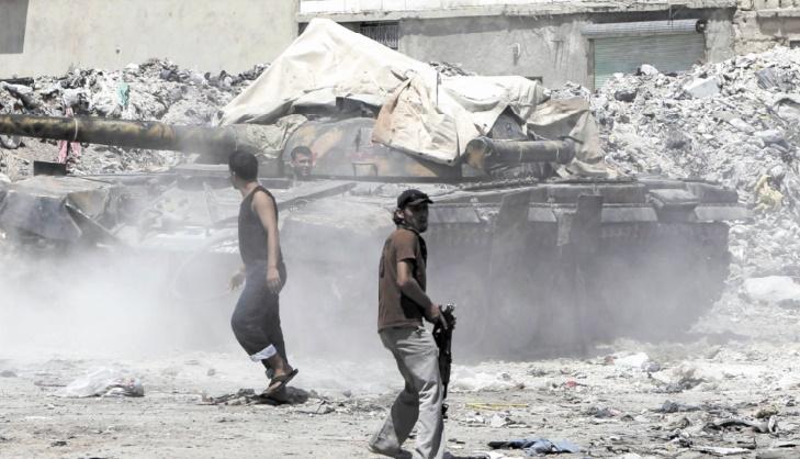 Les combats font rage à Damas après un nouvel assaut rebelle