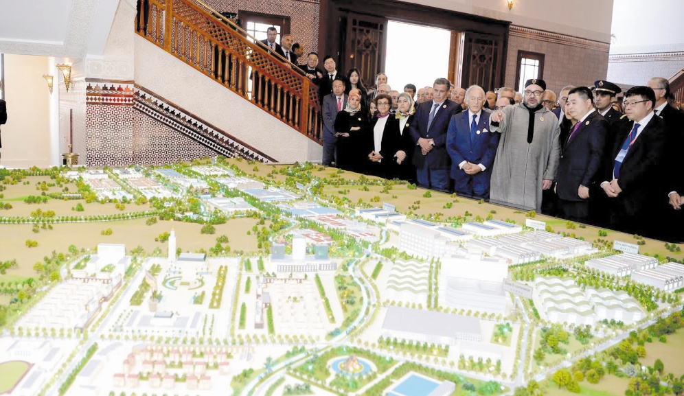 S.M le Roi lance le projet de la Cité Mohammed VI Tanger Tech
