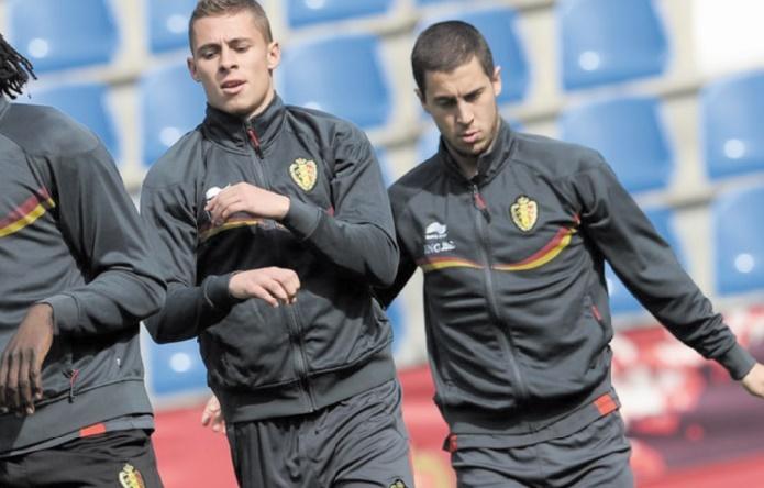 Thorgan Hazard remplace son frère Eden en sélection belge