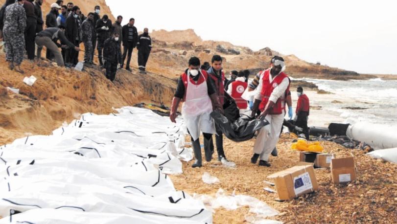 250 morts dans deux naufrages au large de la Libye