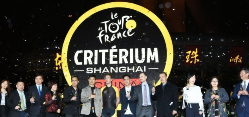 Le Tour de France met une roue en Chine