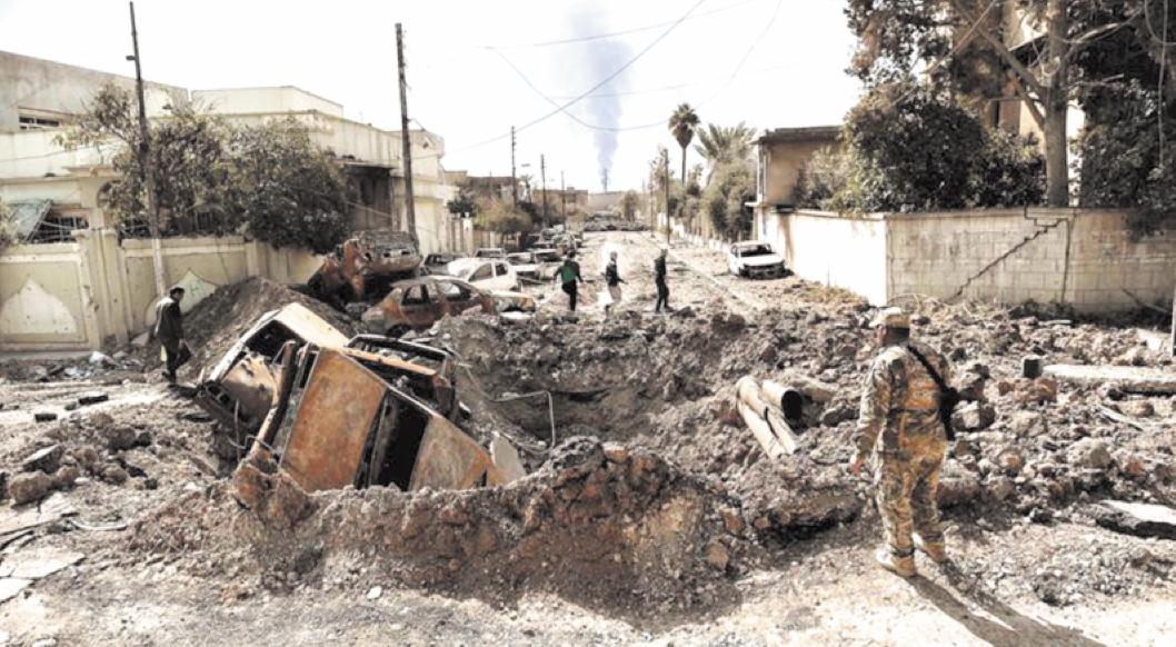 61 tués dans une frappe  aérienne à Mossoul-Ouest