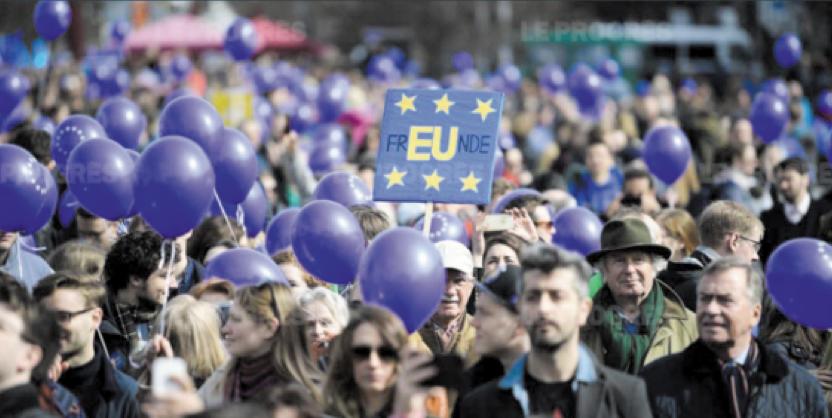 L'Europe fête dans la rue les 60 ans du Traité de Rome