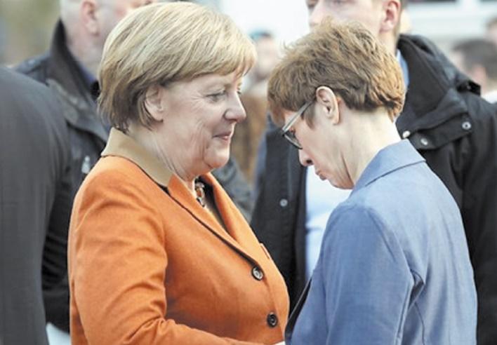 Merkel réussit haut la main un scrutin-test